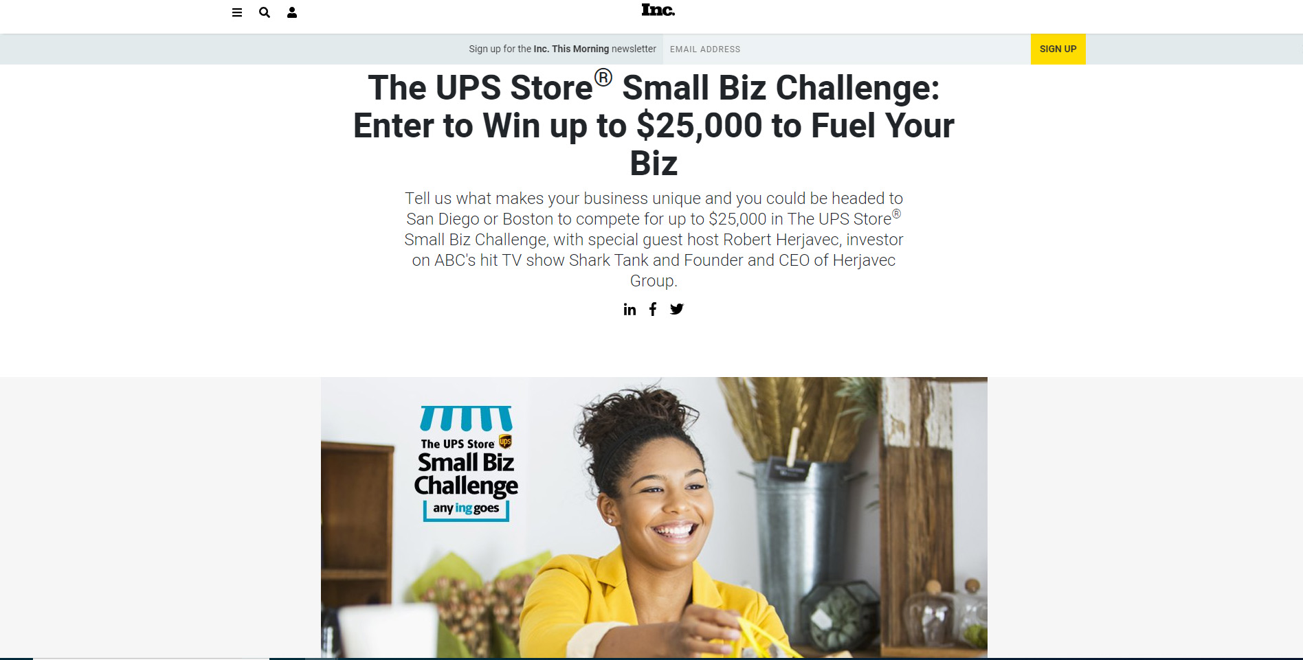 UPS-small-business-competition